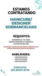 Título do anúncio: Vaga para Manicure/Designer Sobrancelhas - Salão em Candeias