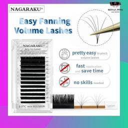 Cílios Auto Fan Nagaraku 0.05C Mix