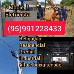 Título do anúncio: Eletricista ELETRICISTA eletricista Elétrica em geral