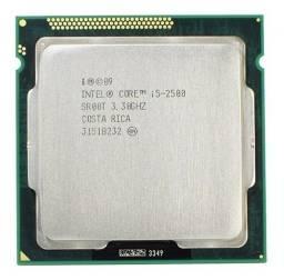 Título do anúncio: Processador i5 2500 3.30ghz, 1155