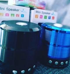 Caixinha de Som Bluetooth Mini Speaker potente Usb/aux