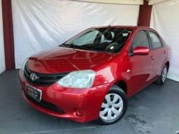 Toyota-Etios Sedã  SX 1.5 Flex  2013 Impecavel!!!