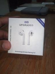 Fonte de ouvido via Bluetooth marca i9S
