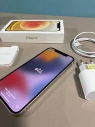 Título do anúncio: iPhone 12 impecável