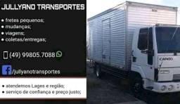 Título do anúncio: Mudanças e transportes (Lages/SC)