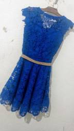 Título do anúncio: Vendo esse vestido de festa Tamanho P usado uma vez só