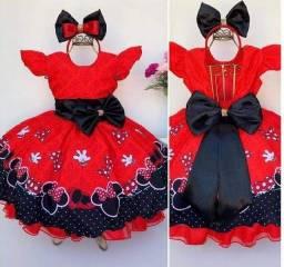 Vendo vestido lindo da miniie nunca usado baratinho somente 90$