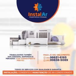 Título do anúncio: Instalação limpeza e conserto em ar condicionado