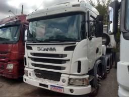 Título do anúncio: Scania 440 6x4 2013 4 eixo automático com tomada de força