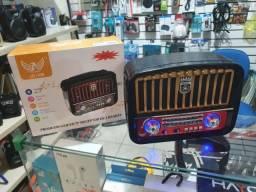 Título do anúncio: caixa de som retrô JD-108 bluetooth