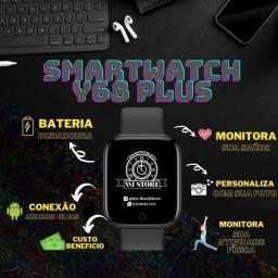Título do anúncio: Smartwatch Y68 Plus - Relógio Inteligente