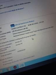 Notebook i5 com biometria Windows 7