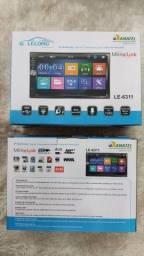 Central Multimídia Mp5 Bluetooth Lelong - Le6311<br><br>
