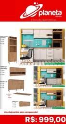 Armário de cozinha com adega