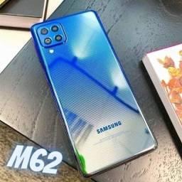 Título do anúncio: Samsung M62 128GB NOVOS Lacrados Aceito Cartão