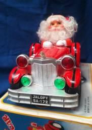 Papail noel no carro