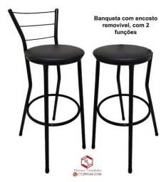 Título do anúncio: Banqueta Alta entrega grátis (produto novo loja virtual)