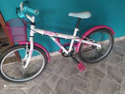 Bike Caloi aro 20 Barbie