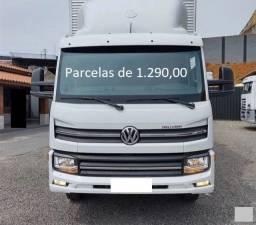 Título do anúncio: VW Delivery 11.180 2020 Baú de Alumínio Entrada mais Parcelas com Contrato de Serviço.