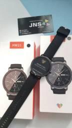 Título do anúncio: Smartwatch a prova dágua Hw21 TOP DE LINHA ORIGINAL