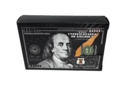 Baralho Dolar Preto Exclusivo - 52 cartas.