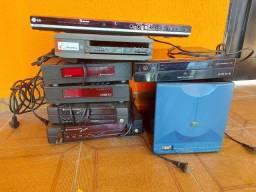 Título do anúncio: Decodificar desbloquedo, office ras ,aparelho dvd com usb modem parks
