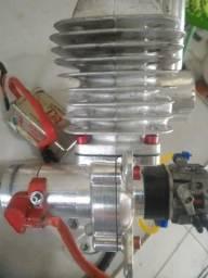 Motor aeromodelo gasolina