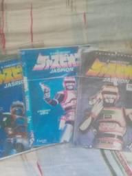 3 Dvd,s O Fantástico Jaspion