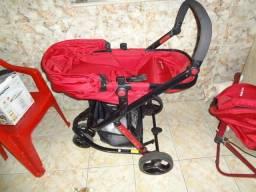 Carrinho e Bebê Conforto Safety 1ST Travel System - 12x Sem Juros - V/T