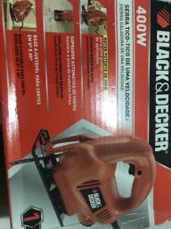Serra Tico-Tico 400W Black&Decker KS-405