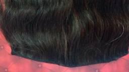 Vendo cabelo humano natural virgem 80 350 cada tela