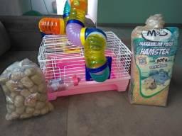 Vendo casinha de Hamster