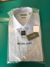 Camisa Michael Kors Azul Claro M E G - Cod 216/ 217