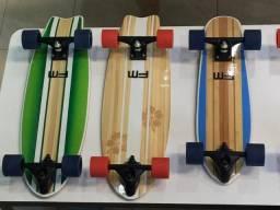 Skate simulador de surf Carver novo completo