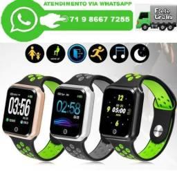 Relogio Batimento Cardiaco Smartwatch Oled Pro Serie 2 / S226 (Novo)