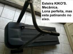 Esteira mecânica Kiko's. Precisa reparo. Lona perfeita, mas esta patinando no eixo