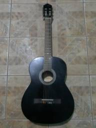 Vende-se violão preto corda de aço