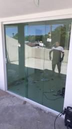 Vidros temperado em geral! portas, janelas, box banheiro