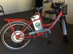 Bicicleta elétrica traço & bike plus