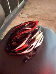 Vendo capacete usado de baick