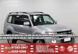 Mitsubishi pajero full 3.8 hoe 2012 R$ 63.800 57.000km prata - 2012