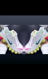 Nike Shox 12 molas várias CORES e modelos tênis YEEZY ? 350 bost