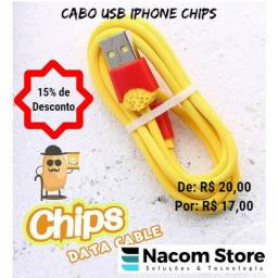 Cabo USB Iphone Chips
