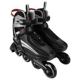 Patins / Roller Gonew Fitness Flexx Pro In line ABEC 9 Base de Alumínio