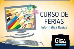 Curso de Informática para suas ferias para crianças, jovens e adultos