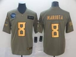 Camisa Oficial NFL edição Limitada Tennessee Titans Marcus Mariota Nike