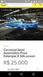 Carrossel semi automático