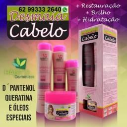 10 Kits Restauração + Brilho + Hidratação Hábito Brasil Cosméticos