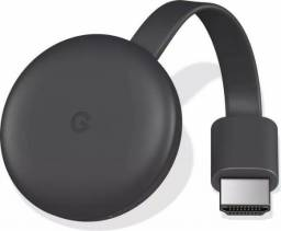 Chromecast 3 chrome cast 3 Hdmi Edição 2019 Original 1080p Google Novo Lacrado