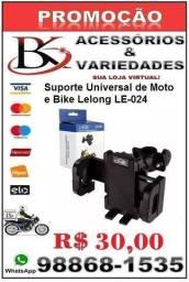 Suporte Universal de Moto e Bike Lelong LE-024 e Holder!- (Loja BK Variedades)